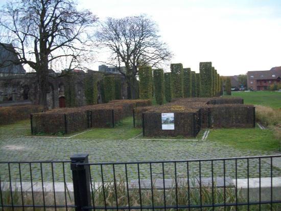 St Bavo's Abbey : Les jardins de l'abbaye