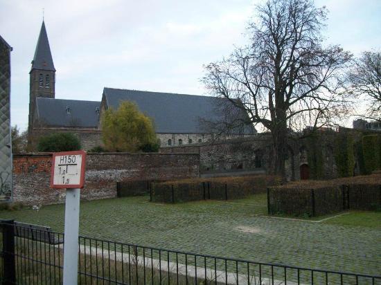 St Bavo's Abbey : Le jardin
