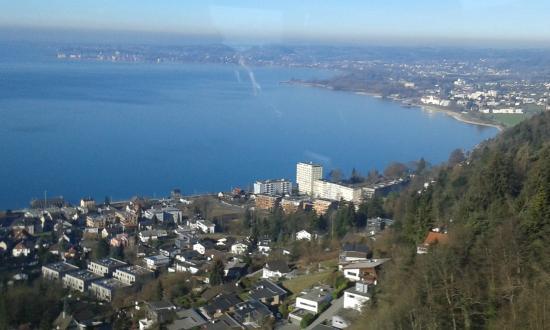 Pfaenderbahn: Der Bodensee