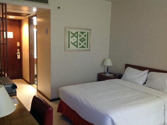 Hotel Princesa Louca : Vista parcial do quarto.