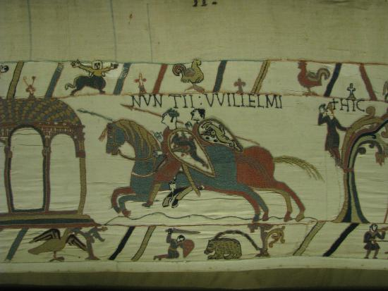 bayeux tapestry experience The bayeux tapestry is to go on display in britain for the first time in 950 years  france has agreed to lend the artwork to britain, as long as it can survive the.