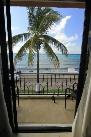 Guidos Boutique Hotel: Looking Out Of The Condo