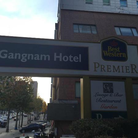 Best Western Premier Gangnam: 看板