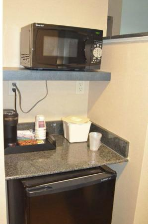 Comfort Suites Ocean City: microwave and fridge