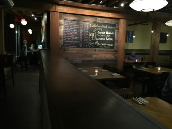 Leroy's Kitchen + Lounge: chalk board