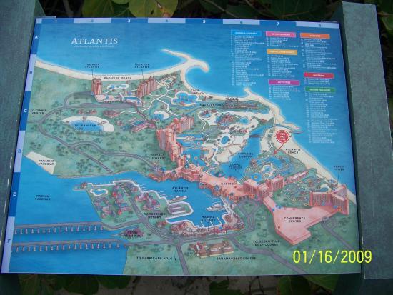 atlantis paradise island map pdf