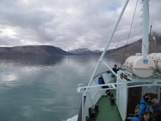 Hurtigruten Svalbard: круиз
