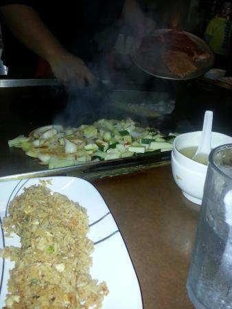 Akira Japanese Steak House: Fried rice