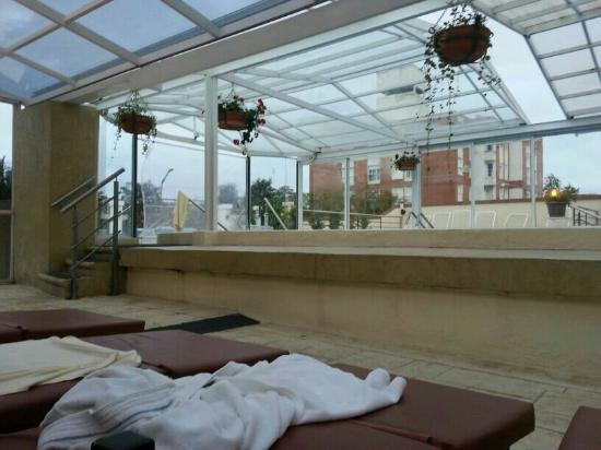 El Hostal del Abuelo : Pileta hotel