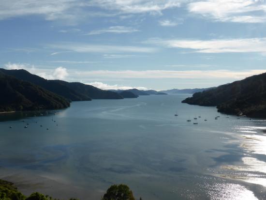 Anakiwa, Nueva Zelanda: View of Queen Charlotte Soun