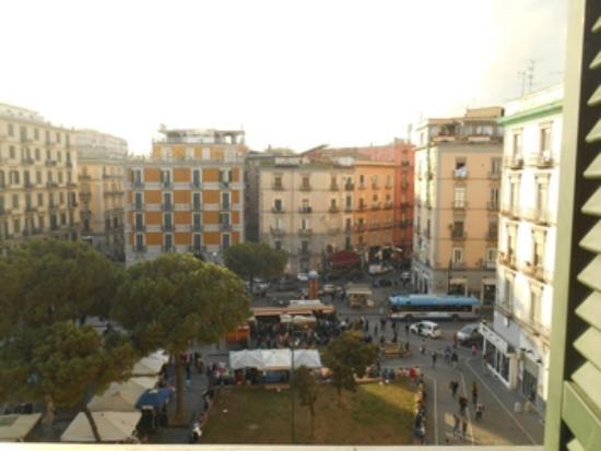 Best Western Hotel Plaza : da una delle due finestre della camera
