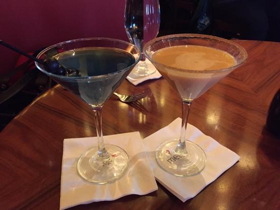 Melt: Blueberry & Pumpkin Martinis