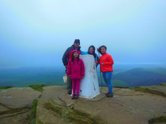 Roseberry Topping: The 'trig' point