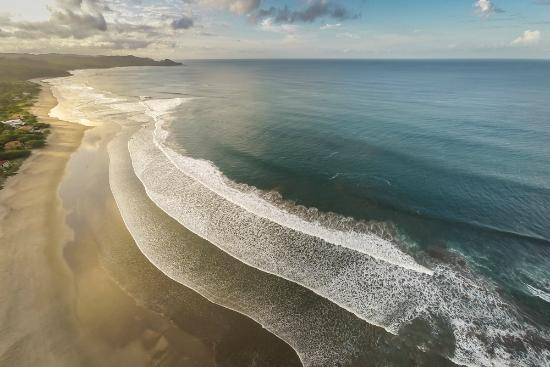 Rancho Santana: Aerial view Playa Los Perros, one of our five beaches