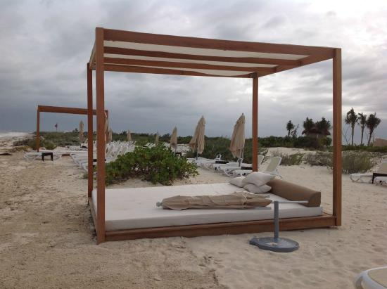 Bali Bed on Beach