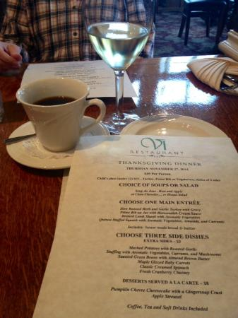 Thanksgiving Fare Picture Of Vi Restaurant Bar Ferndale