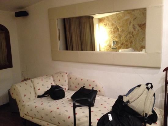 Hotel Restaurant Galena Mas Comangau: Habitación superior