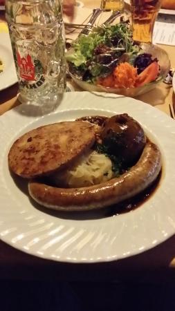 Domhof: l'assiette de spécialités du Palatinat
