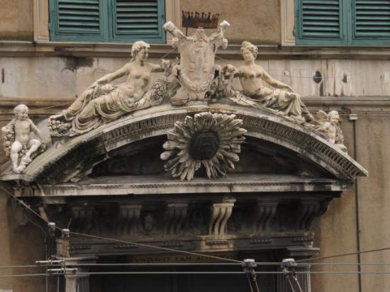 Fontana del nettuno foto di villa del principe genova - Genova porta principe ...