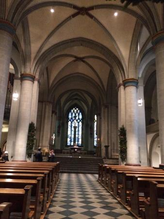Hoher Dom: Inside on a autumn day
