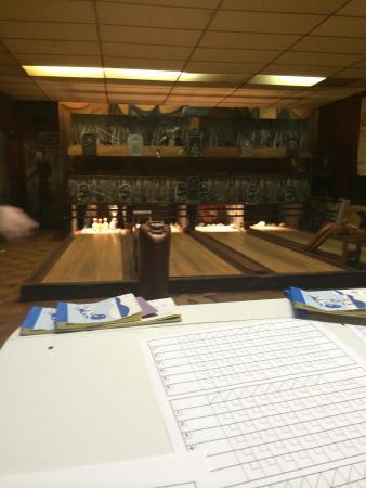 Koz's Mini Bowling: Bowling lane