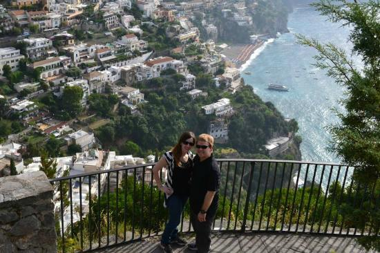 Sorrento House Travel: Picture of us taken by Gaetano at the Amalfi Coast.