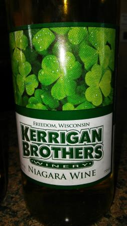 Kerrigan Brothers Winery: bottle pic