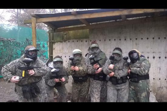 Paintball Bricket Wood: Girls day out
