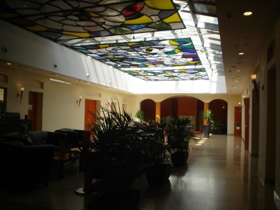 Alfa Hotel Fiesta: Detalhe do lobby