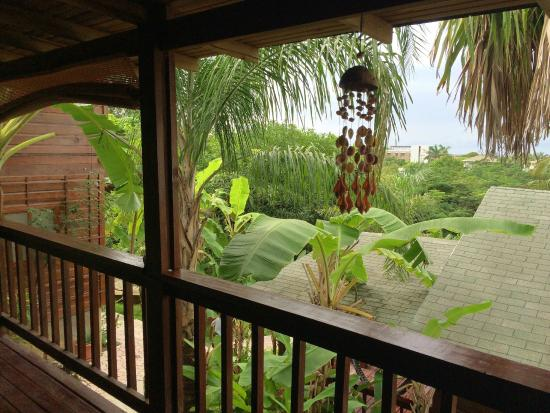 West Bay Lodge and Spa : View from Bungalow 3
