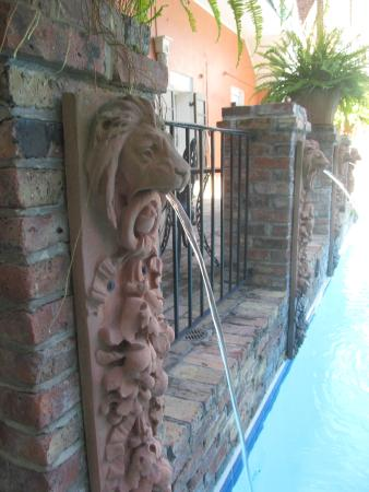 French Quarter Suites Hotel : lovely pool and courtyard