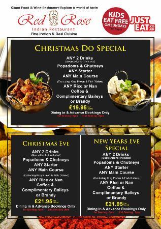 Red Rose Restaurant: Christmas do special