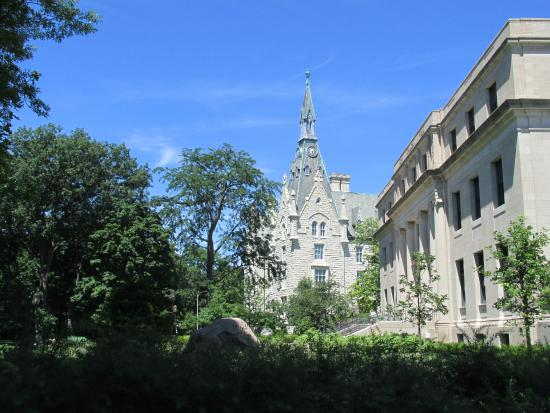 Northwestern University : One of the older buildings on campus