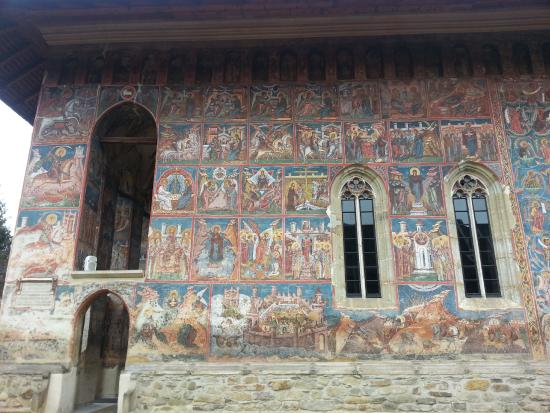 The Painted Monasteries of Bucovina: Biblical scenes and the Siege of Constantinople at Moldovita monastery