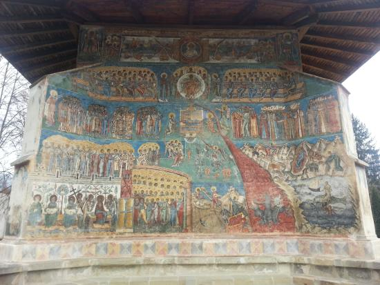 The Painted Monasteries of Bucovina: The Last Judgement at Voronet monastery
