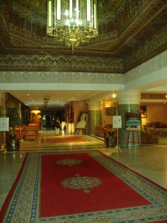 Zalagh Parc Palace : Hall do Hotel