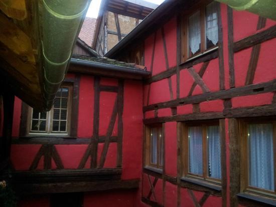 Hotel l'Oriel : accès aux chambres