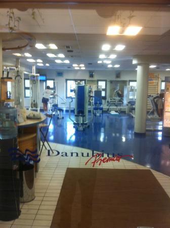 Danubius Health Spa Resort Helia: Тренажерный зал
