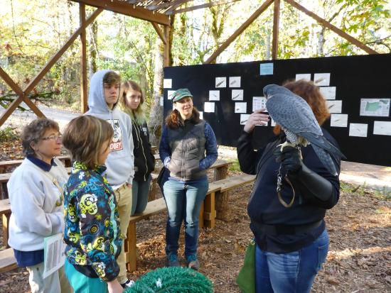 Cascades Raptor Center: Learning