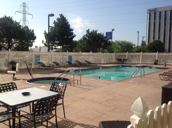 Pool And Jacuzzi Picture Of Hilton Garden Inn Oklahoma City Airport Oklahoma City Tripadvisor