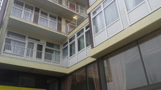 Nieuw Slotania Hotel: Très moche