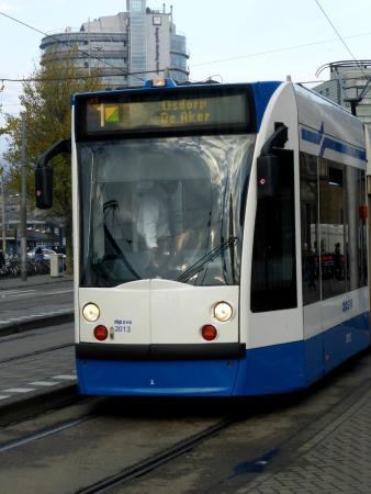 "Annette's B&B: Трамвай №1. На нем можно доехать до  Annette""s B&B"