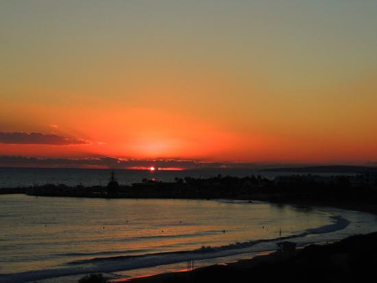 Alion Beach Hotel: Abendsonne vom Balkon