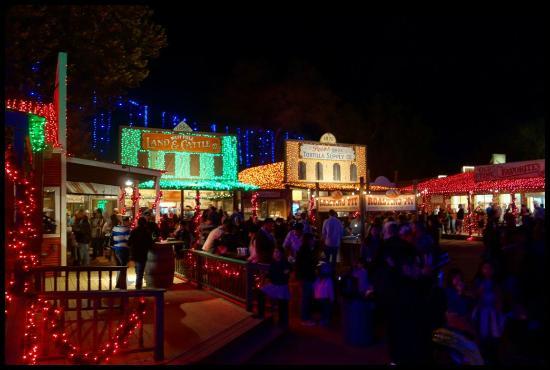 santas wonderland christmas downtown - Christmas Lights College Station