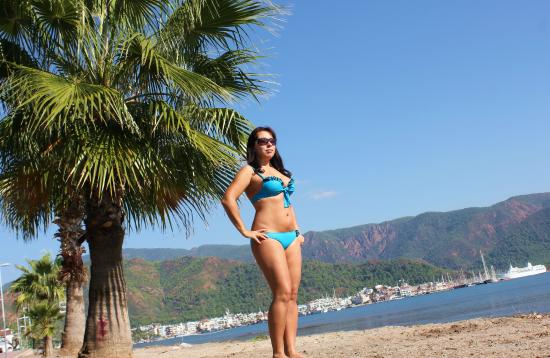 MARMARIS BEACH IN TURKEY VISITING FOR THE FIRST TIME YOUR LOVE MY ...