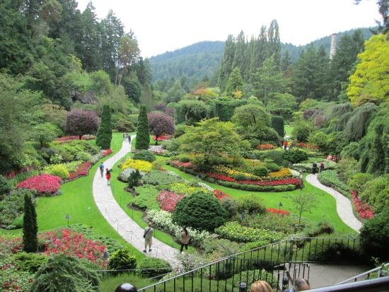 Eight Maids A 39 Milking Picture Of Butchart Gardens Central Saanich Tripadvisor