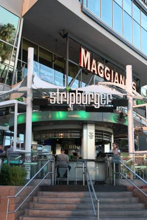 Stripburger : вход