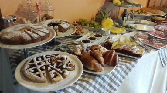 Agriturismo I Pagliai: kahvaltı
