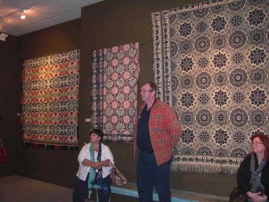 National Museum of the American Coverlet: Husband by coverlets