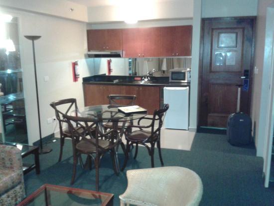 Altamira Suites: Vista de la habitacion